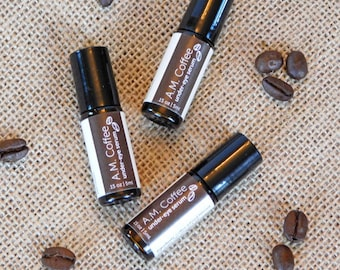 Under-Eye Coffee Serum with Almond and Argan Oils; all natural; depuffs & moisturizes!