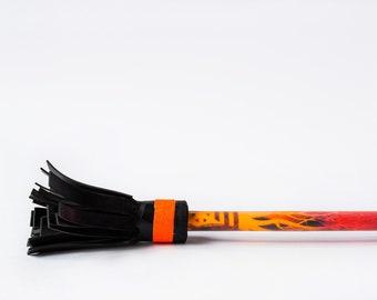 Flower stick / juggling stick / devil stick / psychedelic fluorescent