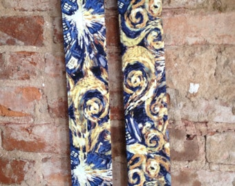 Crossfit / Weightlifting Wrist Wraps - Doctor Who Exploding TARDIS