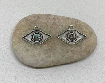 10/20pcs Evil Eye charm, Evil Eye Pendant, Protection Charm