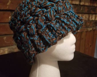 Plush Messy bun hat