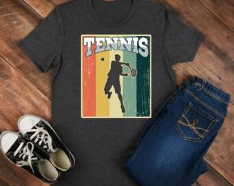 Tennis Retro Shirt/ Shirt / Tank Top / Hoodie / Retro Shirt / Vintage Shirt / Retro Tee / Retro Outfits / Retro Clothes