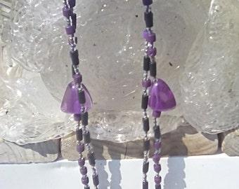 Purple Mountain Majesty Double Strand W/Bracelet