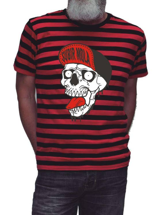 Shirt SKULL MBS lines