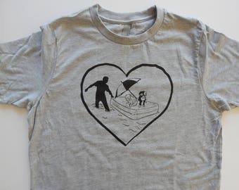 KIDS Rescue T-shirt, Size XS-XL, 50% of the proceeds from this t-shirt will be donated to animal rescue organizations