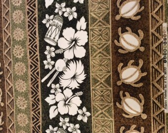 Quilting Fabric - Hawaiian Print - Printex Fabric Inc, #LC80193