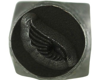 Design Stamp-6mm Bird Wing Right(PN5633)**CLOSEOUT**