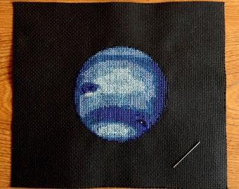 Neptune Cross Stitch Pattern Instant Download PDF