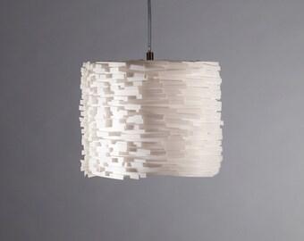 Hanging lamp Luccia S white