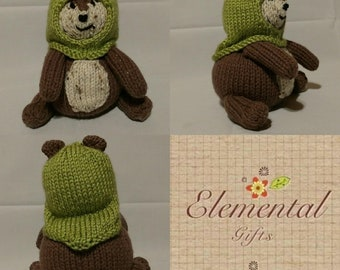 Ewok Knit Toy