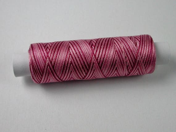 8-3014-Fuschia, Venne cotton gradient, knitting and crochet thread for miniature manual work