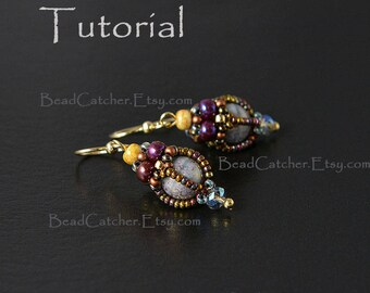 TUTORIAL for Beadwoven Victorian Bead