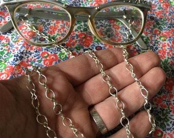 eyeglasses chain, plain jane