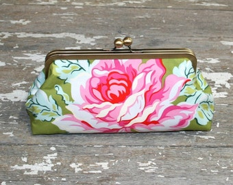 Christmas Gifts Floral Clutch Purse Gift for women Holiday gift Vintage Style Purse Girlfriend gifts Purse Handbag
