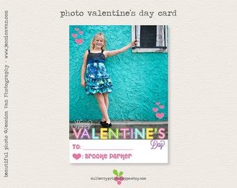 Printable Valentine's Day Photo Card