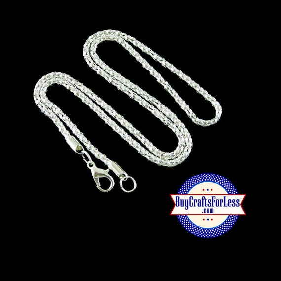 """Silver TUBE CHAIN, 18"""" silver plated 3mm +FREE SHiPPiNG & Discounts*"""
