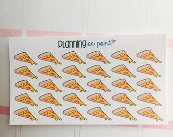 Kawaii Pizza Planner Stickers!