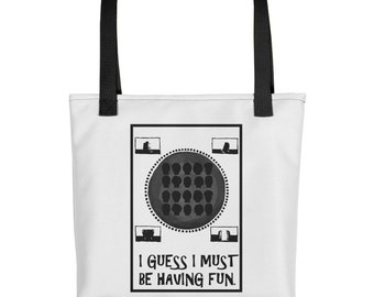 Talking Heads - This Must Be The Place - Tote - Naive Melody - New Wave - Vintage - Vintage Music - Music - Band - Song - Tote Bag
