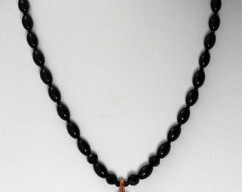 Onyx Copper Necklace