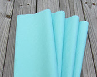 "Tissue Paper / 24 Sheets Aqua Blue Tissue Paper 20""x30""/Light Blue/Bride & Co./Bulk Tissue Paper/Aquamarine Tissue Paper"