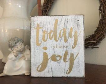Today I choose Joy sign, 6x5.25,