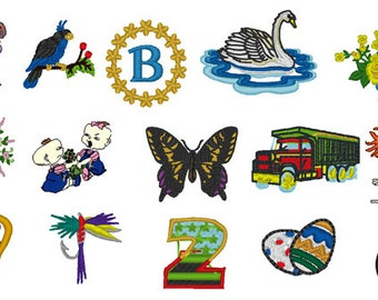 Bargain - 7000 Embroidery Designs Patterns