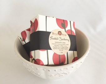 Frosted Cranberry Handmade Soap Bar