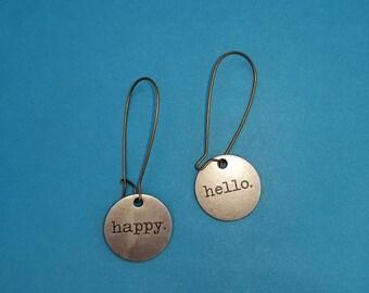 Happy Hello earrings