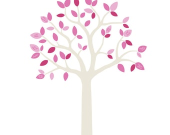 Family Tree Wall Decals - Family Tree Fabric Wall Decals