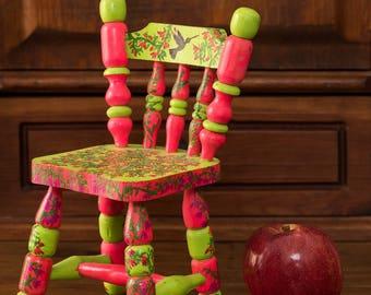 Colibri Chair, Hummingbird Chair, toy, toy, ITARTI, #ITARTIartesanal #ITARTIsignificando