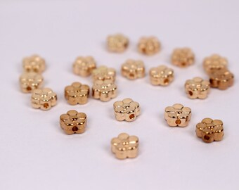 A009S Little Gold Flowers  Doll Craft Jewelry Making Doll Sewing Supplies