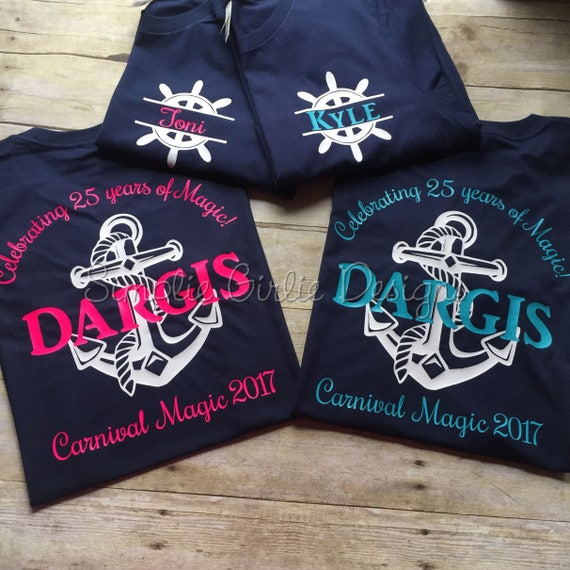 Custom Cruise T Shirts You Choose Colors Size 2t To Adult