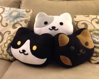 Neko Atsume Pillow