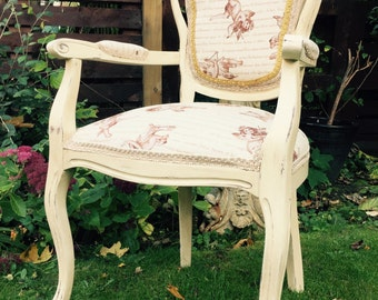 Cherub carver chair NOW SOLD