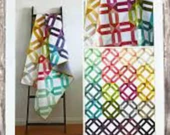 Ombre Weave Printed quilt pattern by V and Co. - paper printed pattern