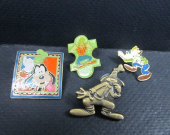 Disney Goofy tie tack Lapel hat pins