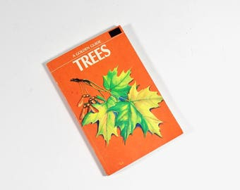 A Golden Guide Trees - Science Guidebook - Tree Identification 1956