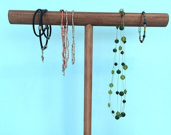 Necklace Stand, Necklace Holder, Necklace Display, Wood Necklace Stand, Jewelery Stand, Necklace Hanger, Necklace Organiser