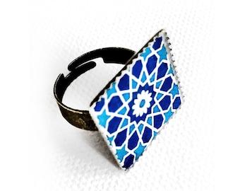 OLDUZ ring  - Persian jewelry- Oriental