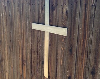 Metal Wall Cross - Custom | Made to Order
