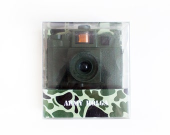 HOLGA 120CFN-X Medium Format Camera Brand New In Box (Limited Edition Army Green)