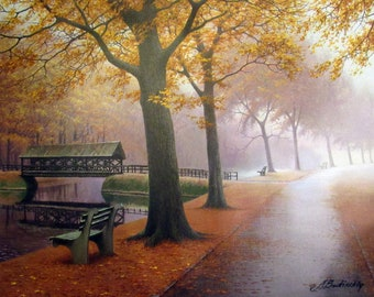 Autumn's Secret by Alexei Butirskiy