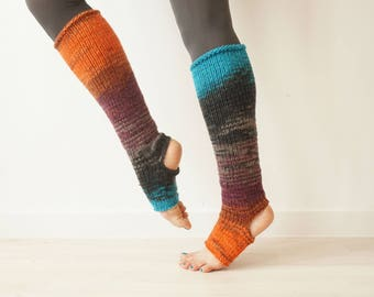 Yoga Leg warmers,  Knee High Socks, Grip Socks, Athletic Socks, Dance Socks, Pilates Socks, Piyo Socks, Toeless Socks, Pedicure Socks, Gift