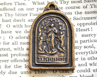 Mary Undoer of Knots Medal - Mary Untier of Knots - Bronze or Sterling Silver - Made in the USA (M11-1236)