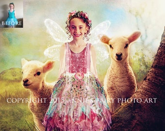Custom Fairy Portrait from YOUR photo