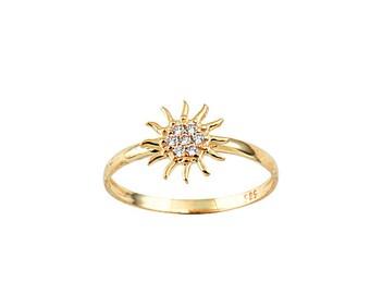 FiEMMA Sun Gold Ring