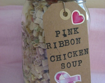 Pink Ribbon Chicken Soup