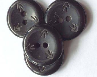 Button for bags (vintage) size: 1.50 cm