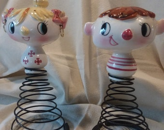 Rare Holt Howard Rock and Roll Salt and Pepper Shakers Rad!