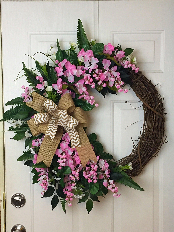 Everyday Wreath, Spring Wreath, Spring Decor, Front Door Decor, Front Door  Wreath, Summer Wreath, Spring Decor, Floral Decor, Floral Wreath